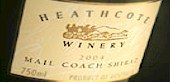 Heathcote Winery Mail Coach Shiraz