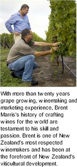More About Brent Marris Winery