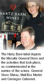 About Hartz Barn Wines