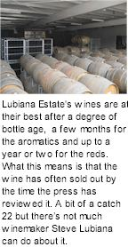 More About Stefano Lubiana Wines