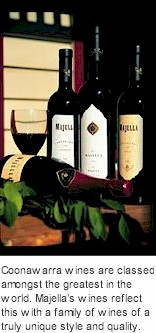 About Majella Winery