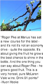 More on the Marius Winery