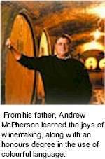 About McPherson Wines