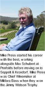 About the Mike Press Winery
