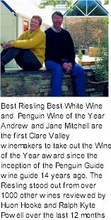 More About Mitchell Wines