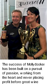 About Mollydooker Wines