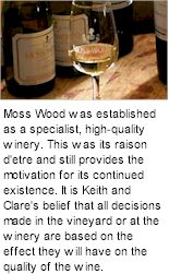 More About Moss Wood Winery