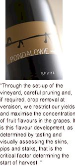 More About Pondalowie Winery