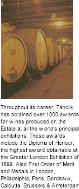 About Tahbilk Winery