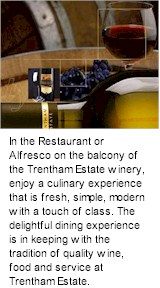 More on the Trentham Estate Winery