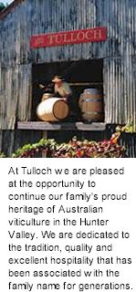 More About Tulloch Winery
