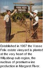 About Vasse Felix Winery