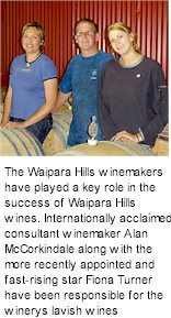About Waipara Hills Wines