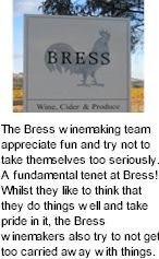 More About Bress Winery