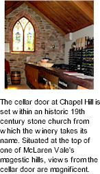 More on the Chapel Hill Winery