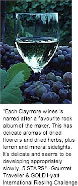About Claymore Winery