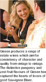More on the Giesen Winery