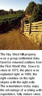 About the Hay Shed Hill Winery