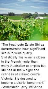More About Heathcote Estate Wines