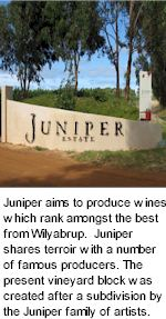 About Juniper Estate Winery