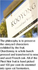 About Kooyong Estate Wines