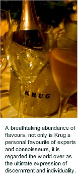 More About Krug Wines