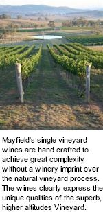 More on the Mayfield Winery