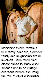 About Monichino Winery