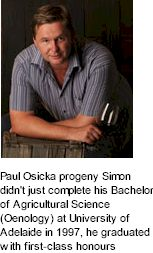 About the Paul Osicka Winery