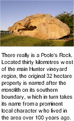 About Pooles Rock Winery