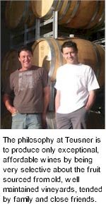 About Teusner Winery