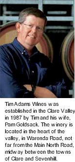 More About Tim Adams Wines