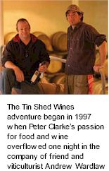 About Tin Shed Wines