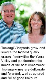 More on the Toolangi Winery