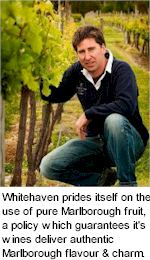 More on the Whitehaven Winery