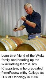 More About Wicks Wines